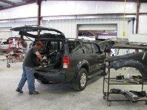 Knoxville auto body shop